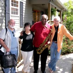 L–R George Tidwell, Diane Marino, Houston Person, Brendan Harkin