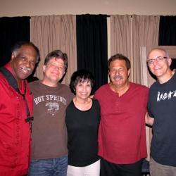 L-R  Houston Person, Pat Bergeson, Diane Marino, Frank Marino, Chris Brown